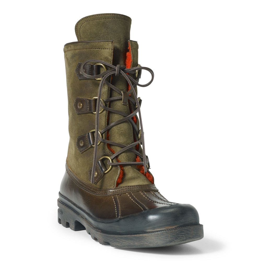 Ralph Laurent Ledgemont Shearling-Lined Boot $1050
