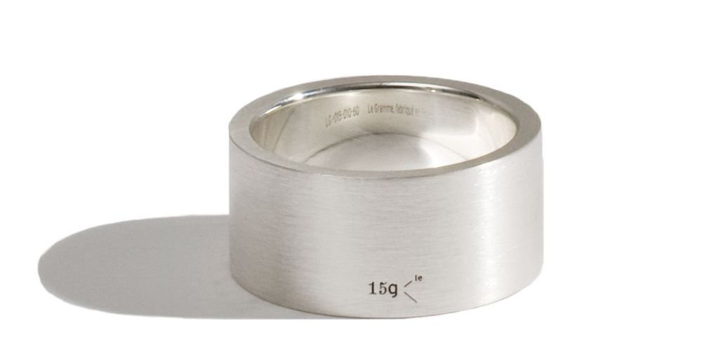 Silver Ring Le Gramme 15g