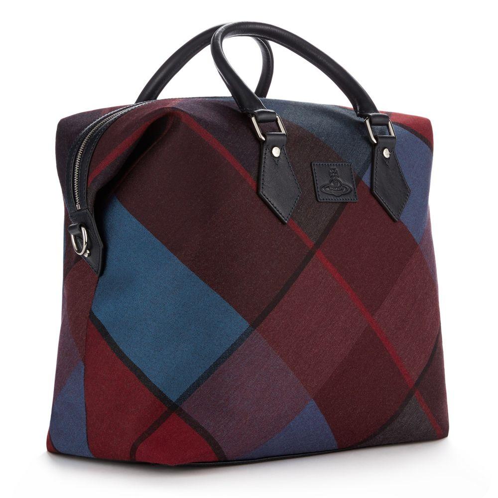 Tartan Weekender Bag Vivienne Westwood