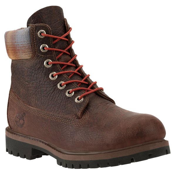 Timberland Men's 6-Inch Premium Pendleton® Plaid Waterproof Boots