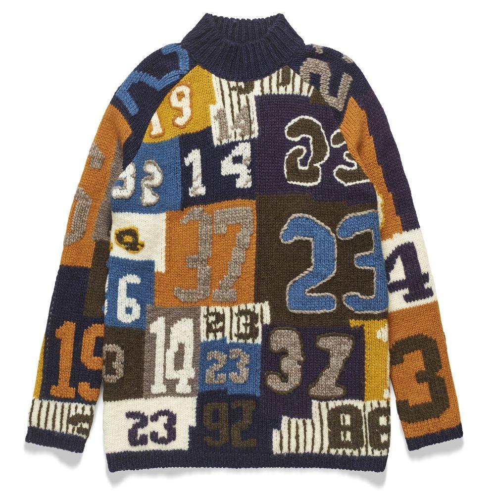 Жаккардовый свитер Acne Studios