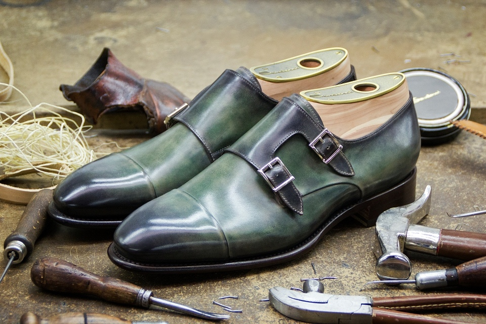 Santoni Shoe Making 1