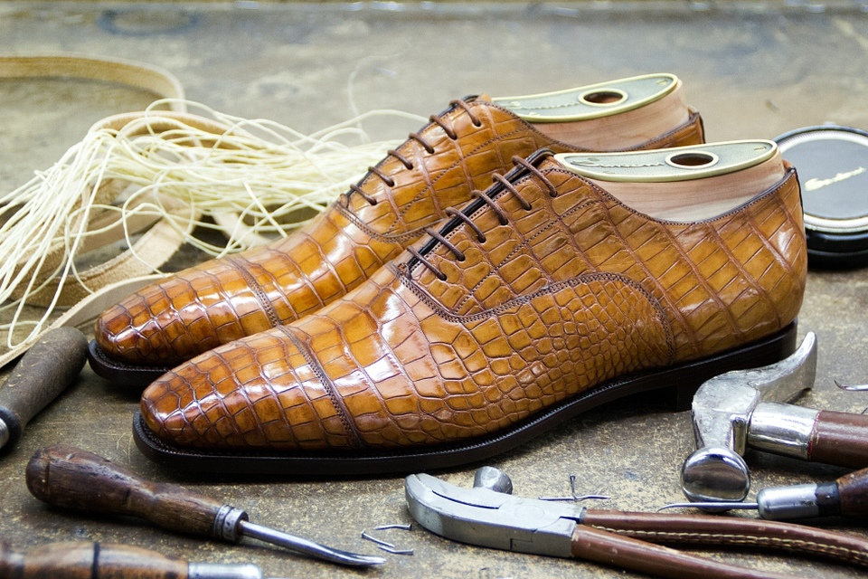 Santoni Shoe Making 2