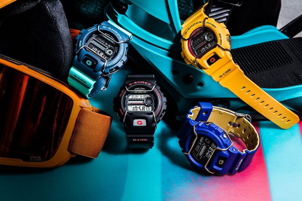 G-shock пополнила коллекцию g-lide новыми часами.