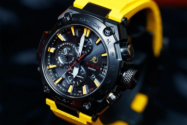часы g-shock брюс ли 01