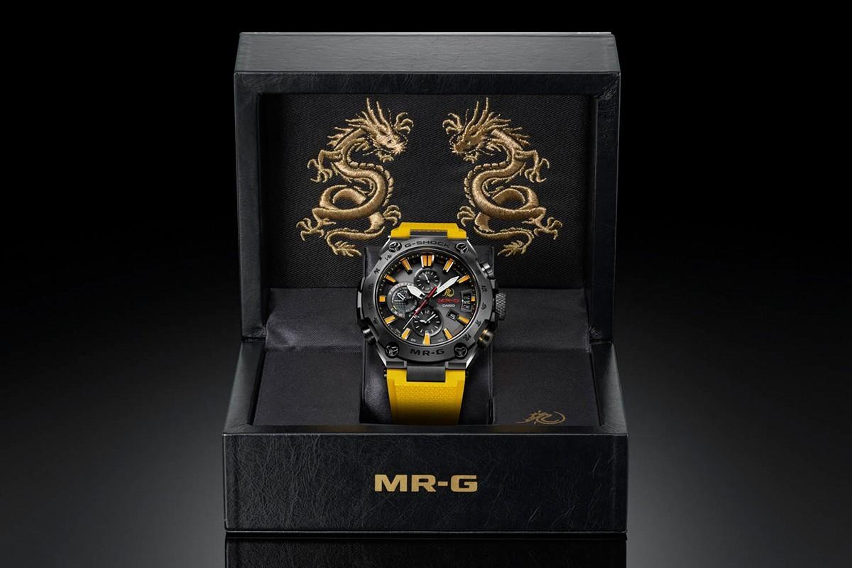 часы g-shock брюс ли 03