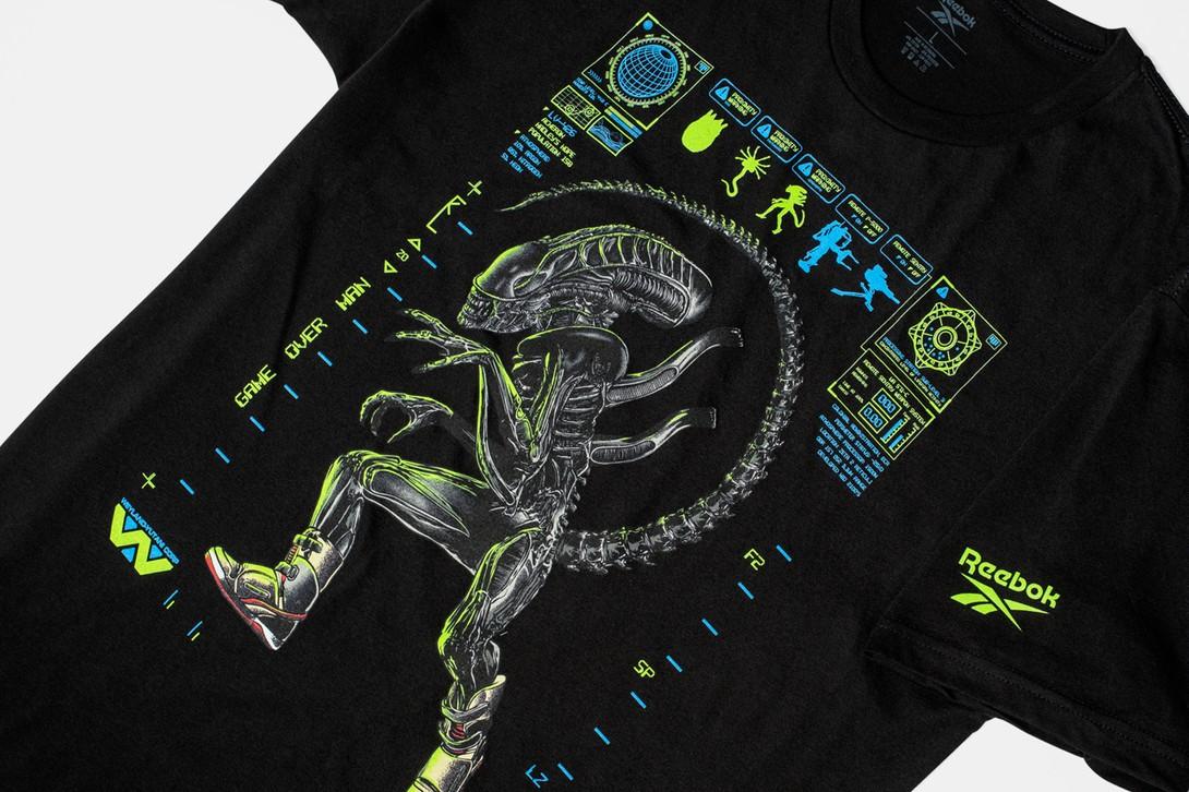 футболка reebok alien day alien stomper bug stomper чужие