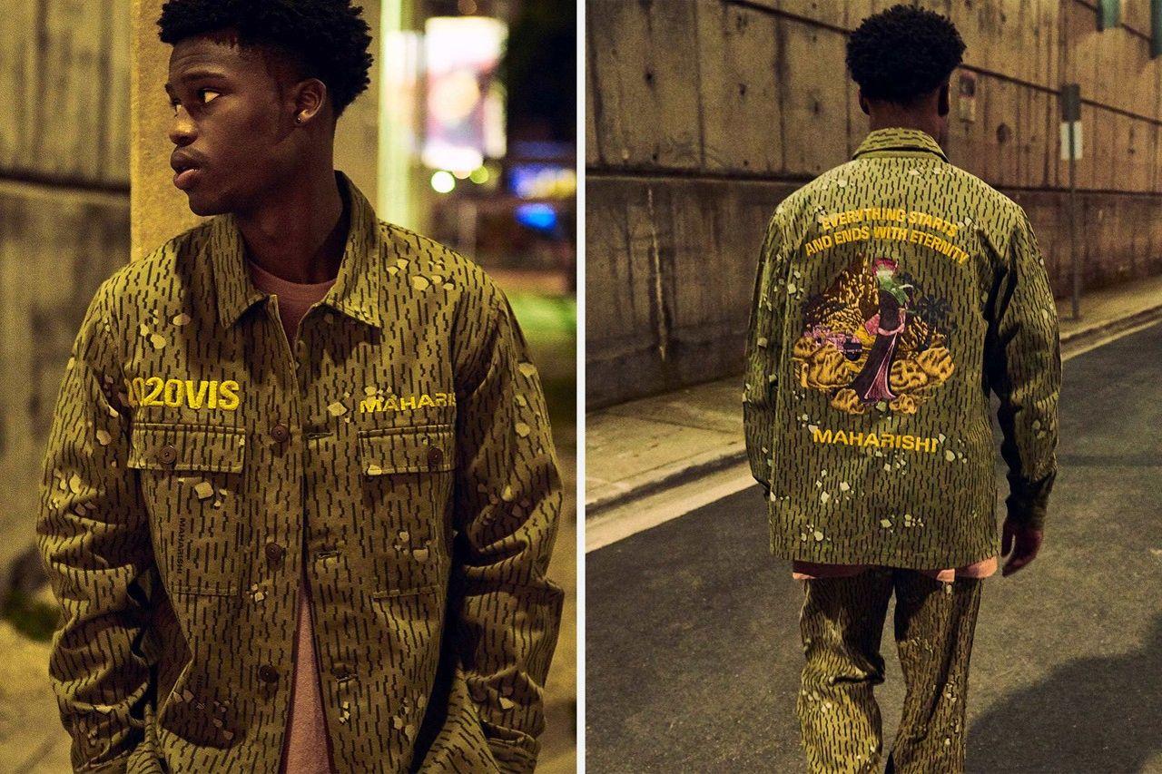 камуфляжная куртка коллекция maharishi весна лето 2020