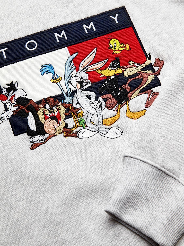 толстовка tommy jeans looney tunes
