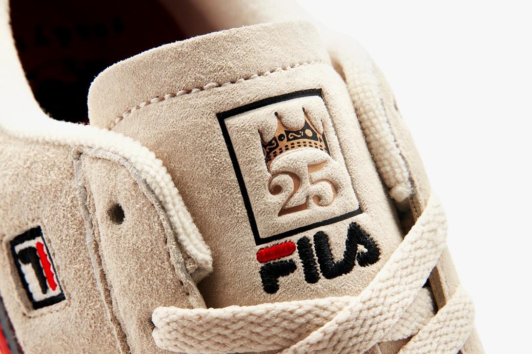 кроссовки fila tennis 88 коллекция the notorious big