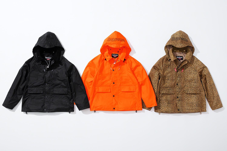 вощеная куртка коллекция supreme barbour весна 2020