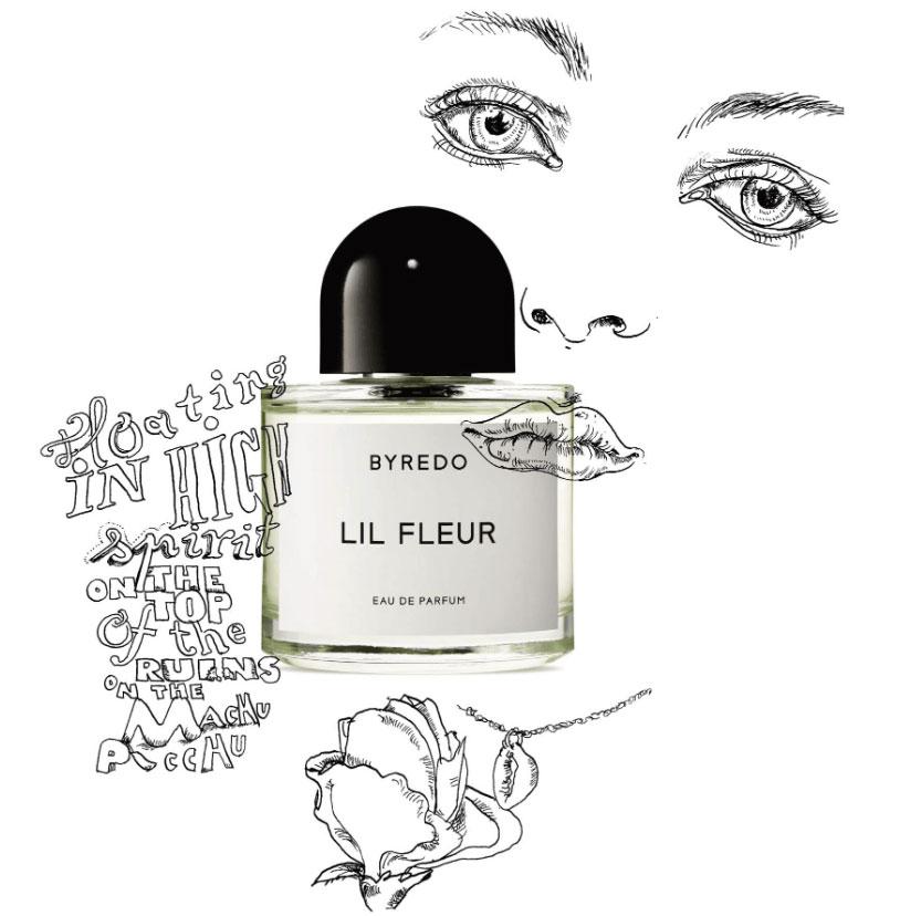 byredo lil fleur аромат унисекс