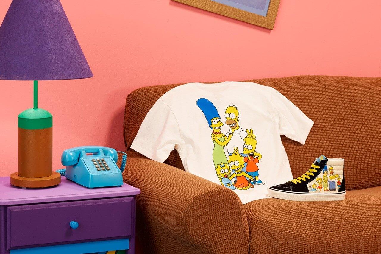 футболка кеды vans симпсоны