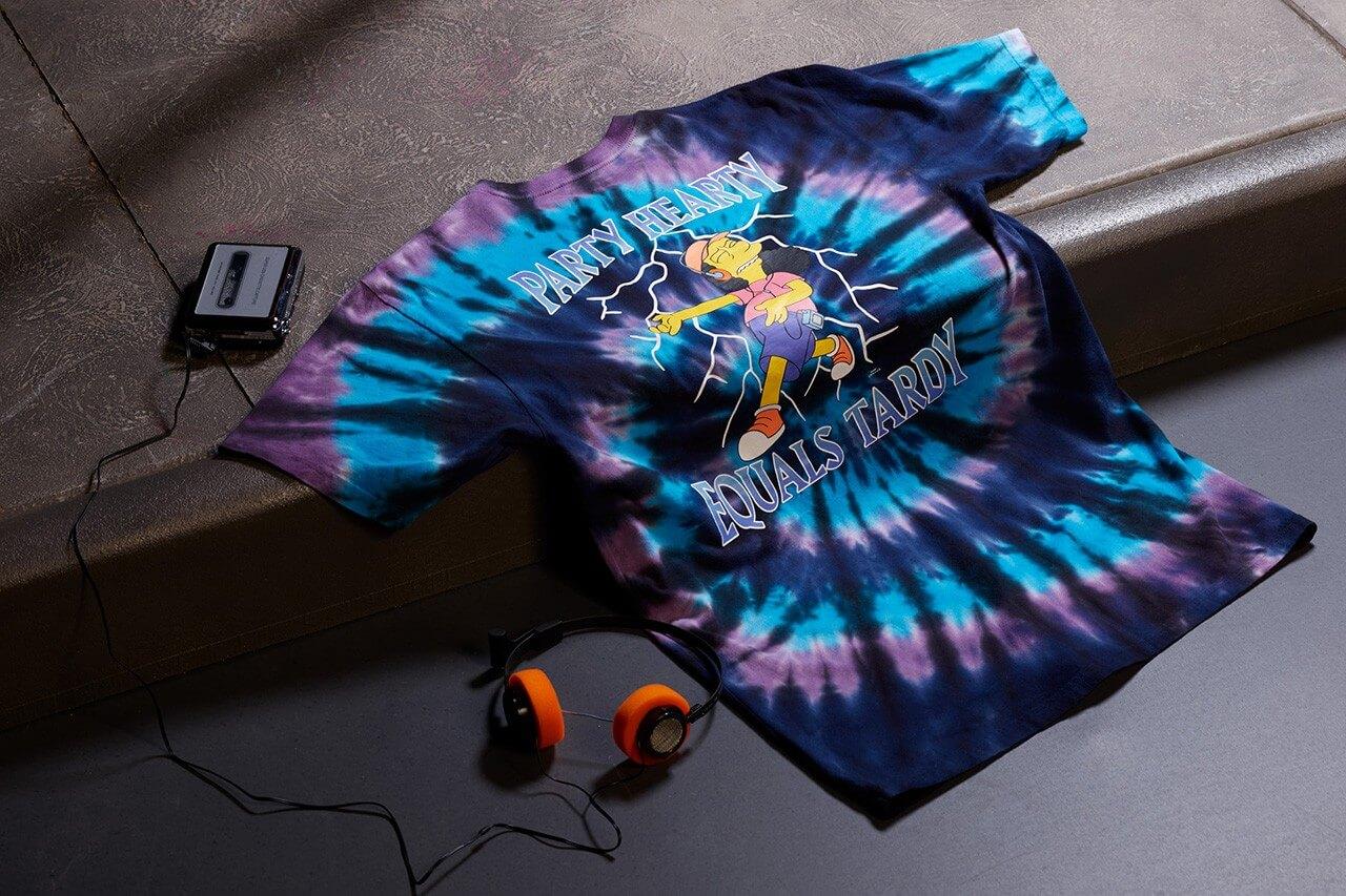 футболка vans симпсоны