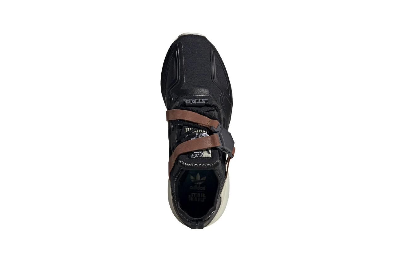 кроссовки star wars adidas zx 2k boost han solo хан соло