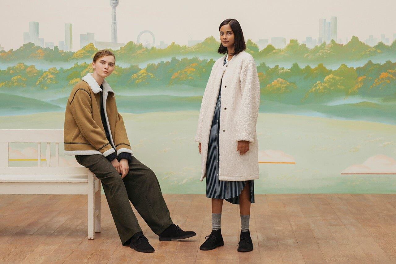 пальто куртка коллекция jw anderson uniqlo осень зима 2020