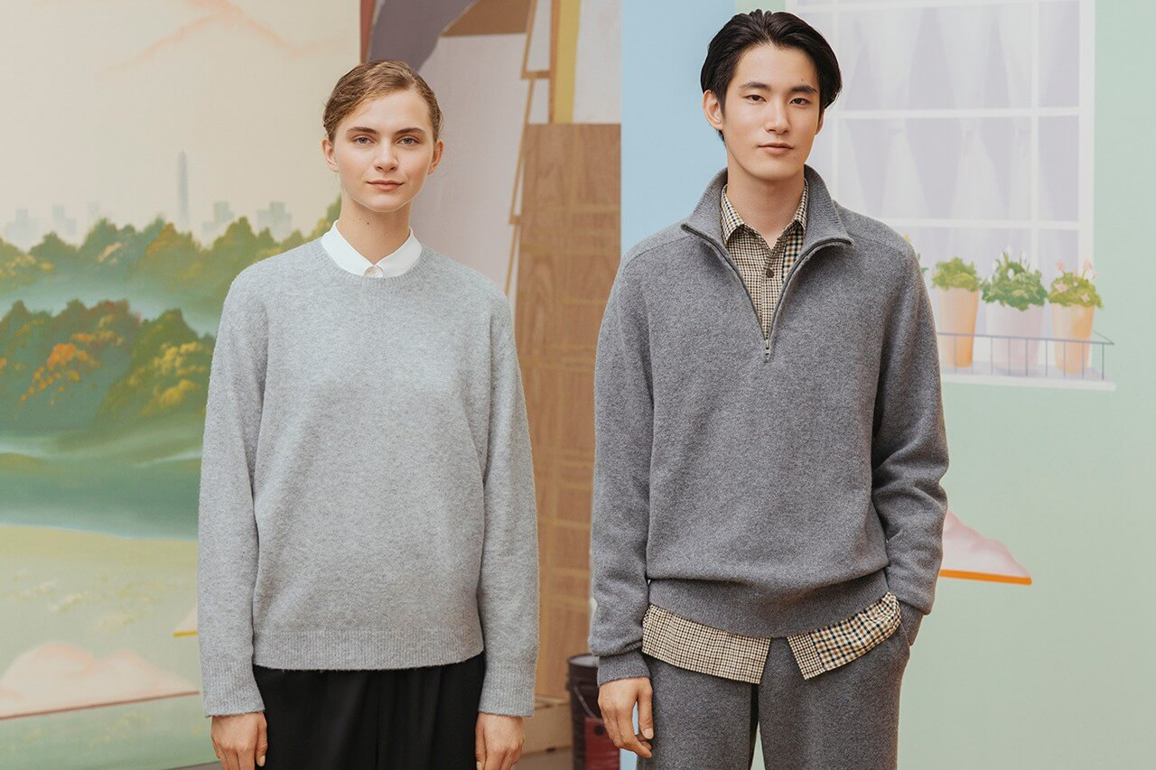 свитер коллекция jw anderson uniqlo осень зима 2020