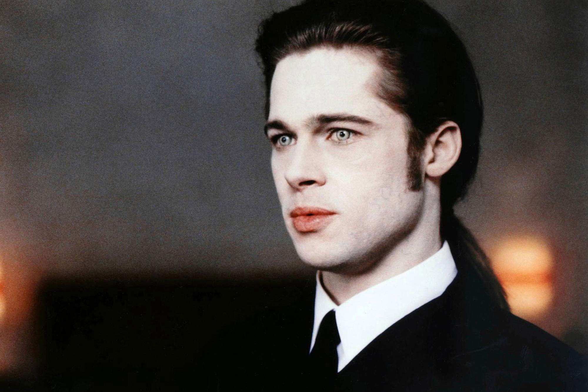 самые стильные вампиры луи лестат брэд питт том круз интервью с вампиром interview with the vampire