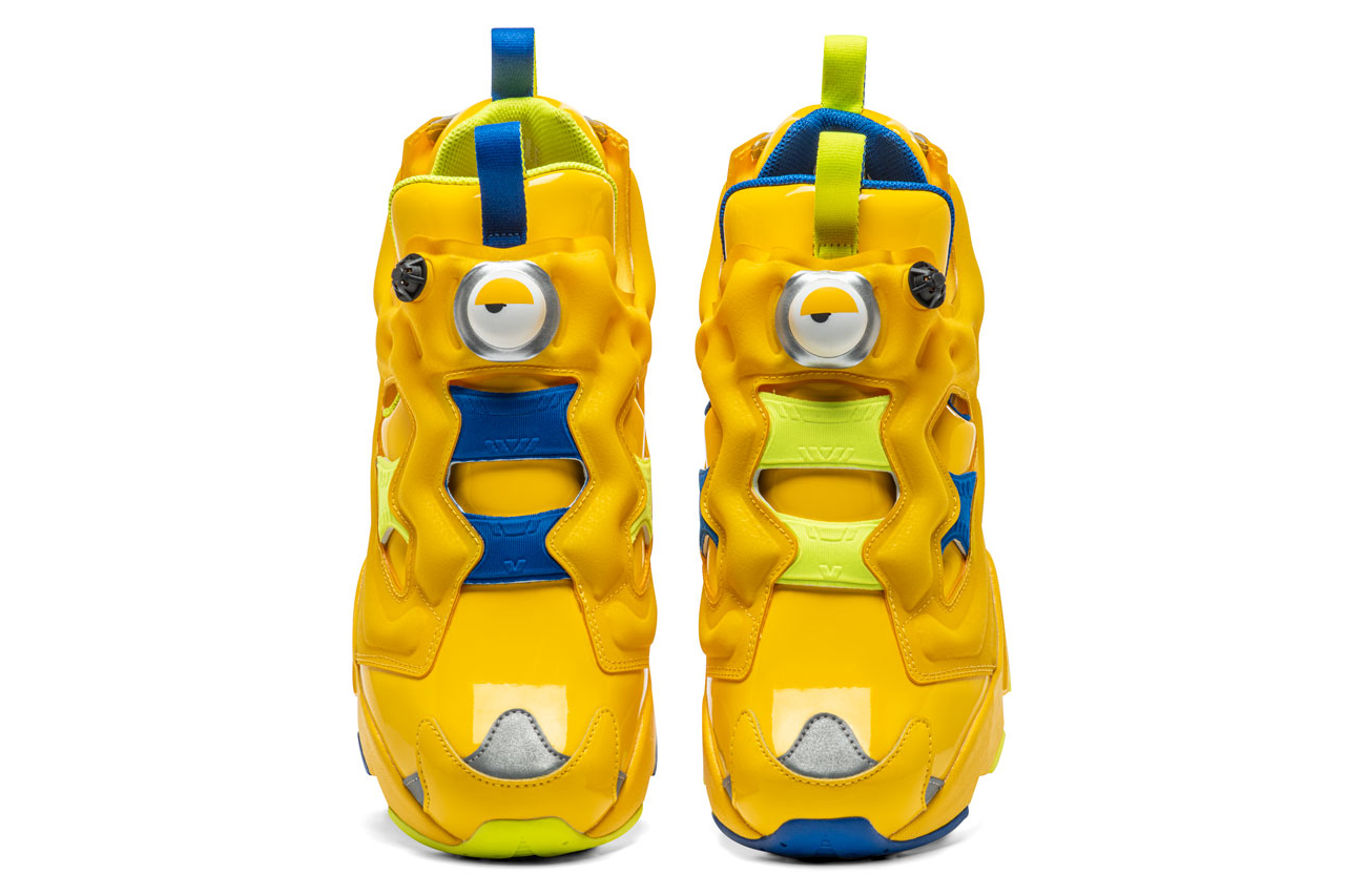 кроссовки reebok minions club c instapump fury question mid