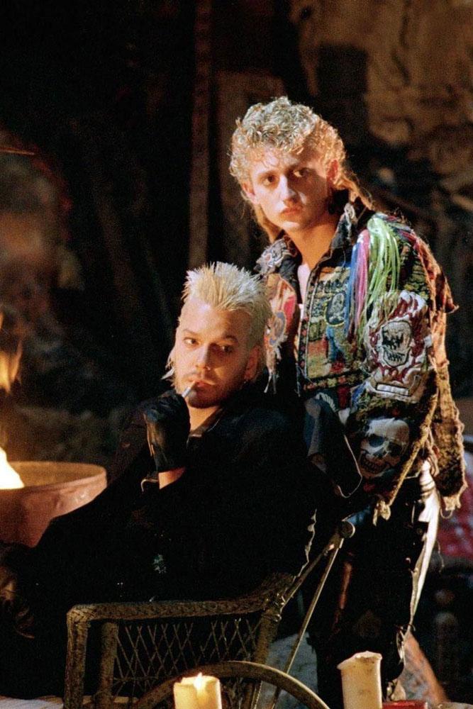самые стильные вампиры дэвид кифер сазерленд пропащие ребята the lost boys kiefer sutherland