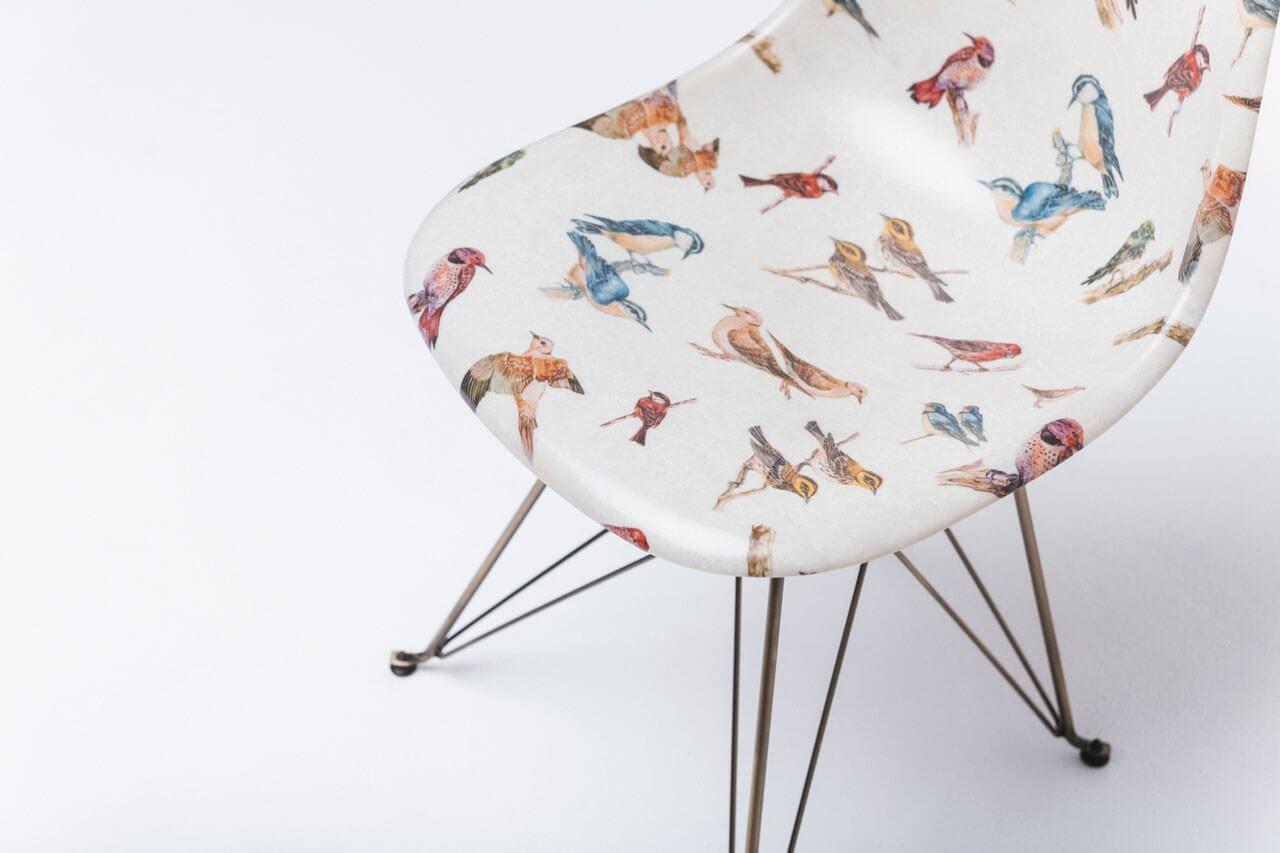 стул modernica herschel с птицами
