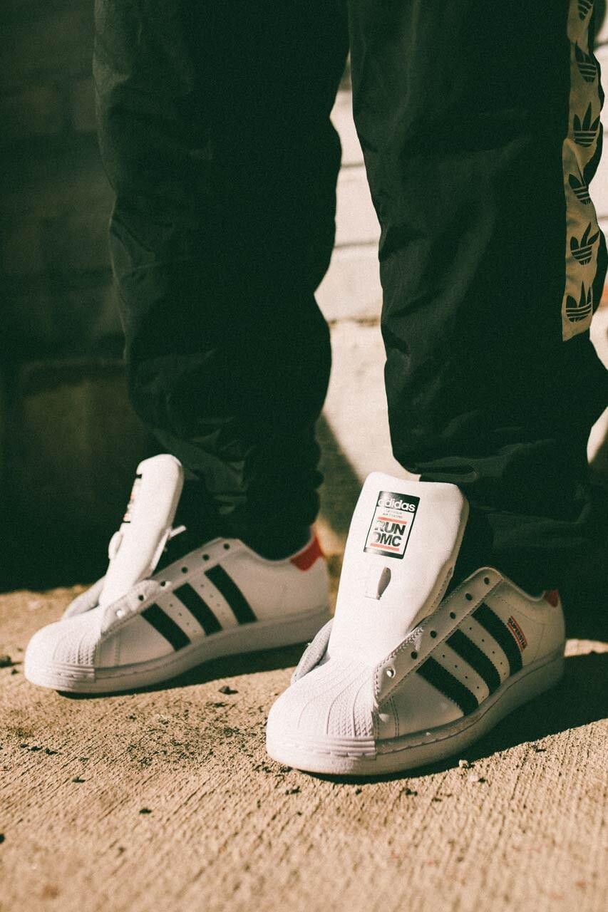 кроссовки adidas superstar run dmc
