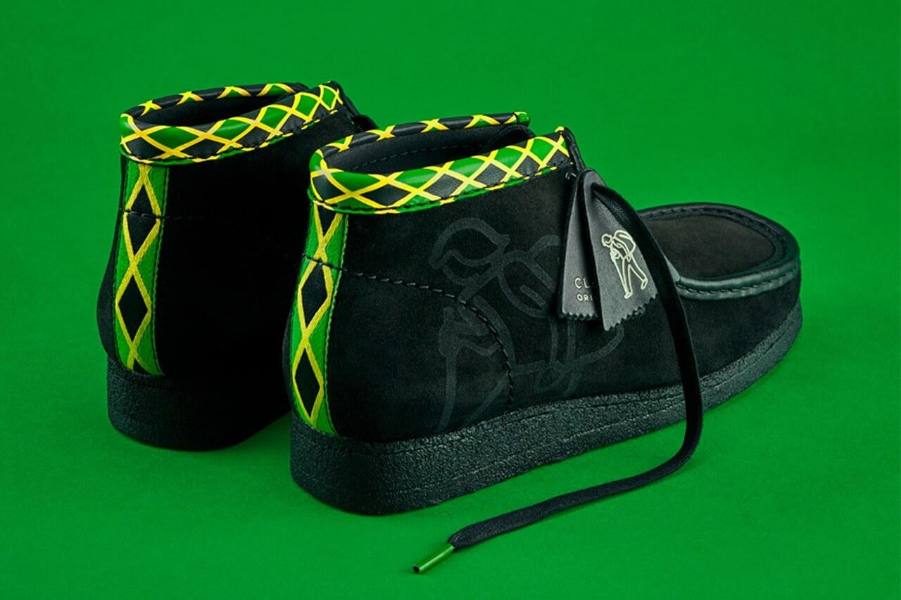 wallabee clarks originals jamaica pack